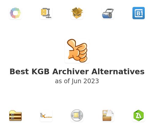 Best KGB Archiver Alternatives