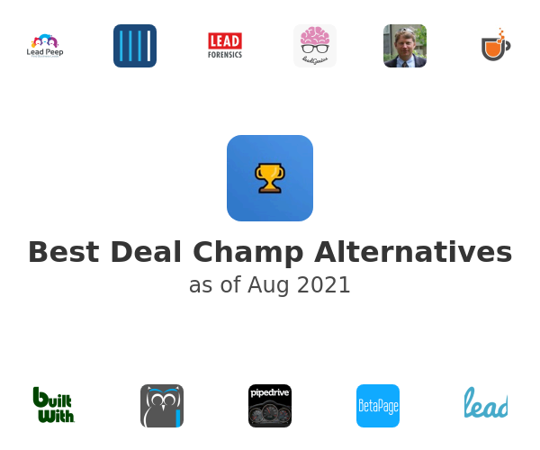 Best Deal Champ Alternatives