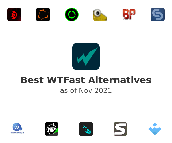 Best WTFast Alternatives