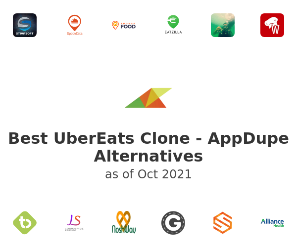 Best UberEats Clone - AppDupe Alternatives