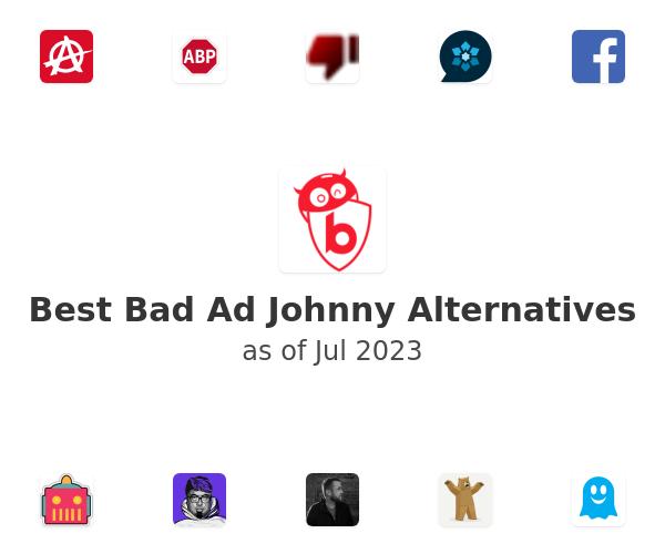 Best Bad Ad Johnny Alternatives