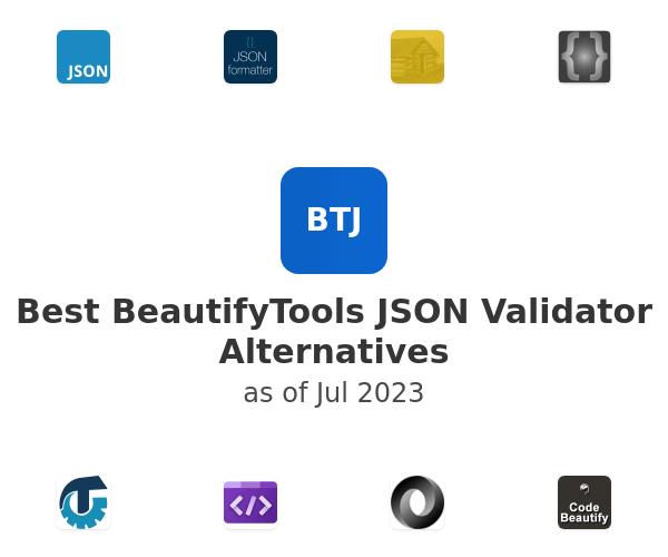 Best BeautifyTools JSON Validator Alternatives