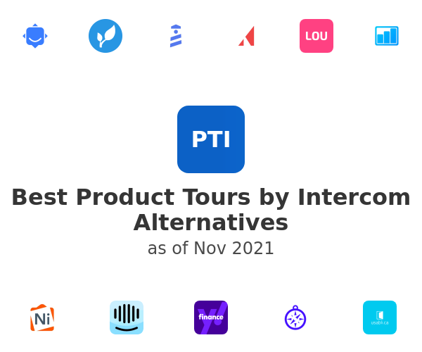 Best Product Tours by Intercom Alternatives