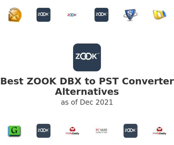 Best ZOOK DBX to PST Converter Alternatives