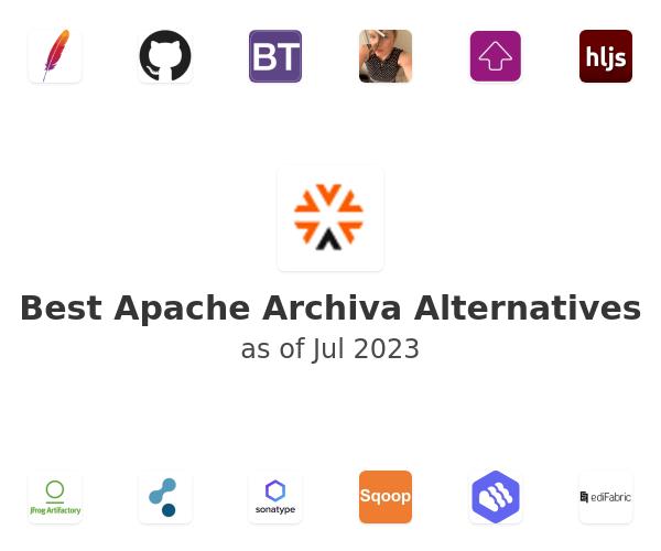 Best Apache Archiva Alternatives
