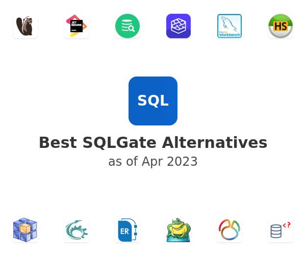 Best SQLGate Alternatives