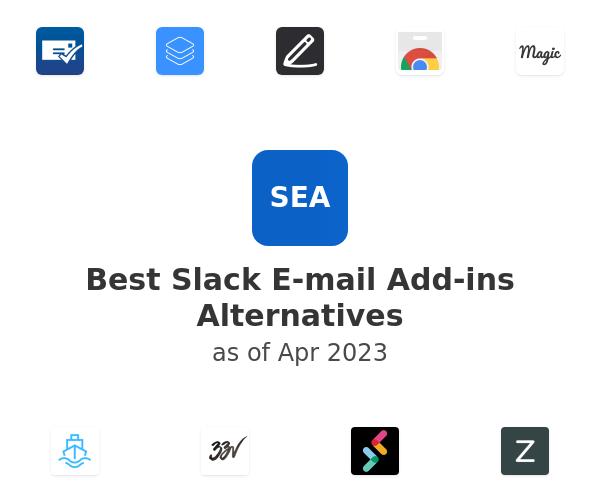 Best Slack E-mail Add-ins Alternatives