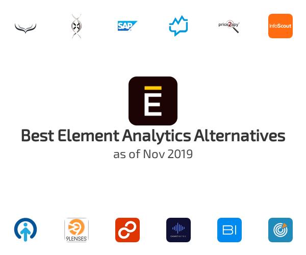 Best Element Analytics Alternatives
