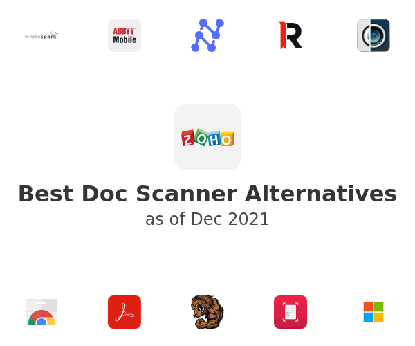 Best Doc Scanner Alternatives