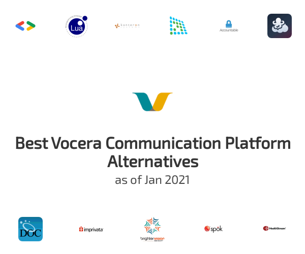 Best Vocera Communication Platform Alternatives