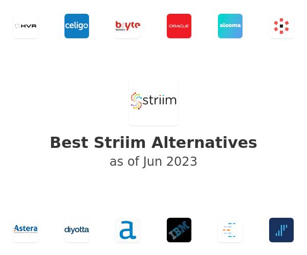 Best Striim Alternatives