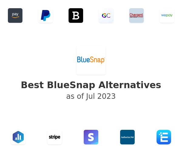 Best BlueSnap Alternatives