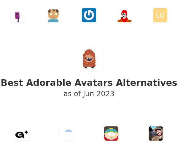 Best Adorable Avatars Alternatives
