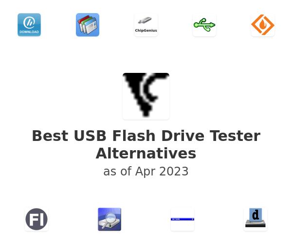Best USB Flash Drive Tester Alternatives