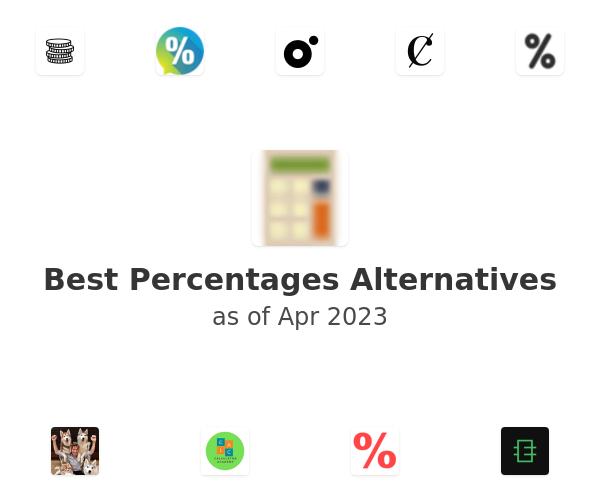 Best Percentages Alternatives