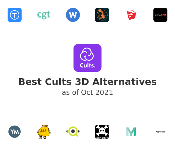 Best Cults 3D Alternatives