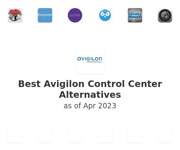 Best Avigilon Control Center Alternatives