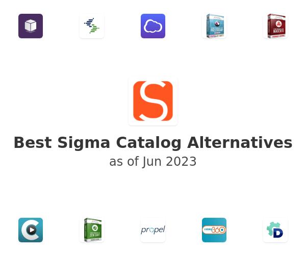 Best Sigma Catalog Alternatives