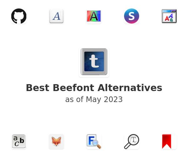 Best Beefont Alternatives
