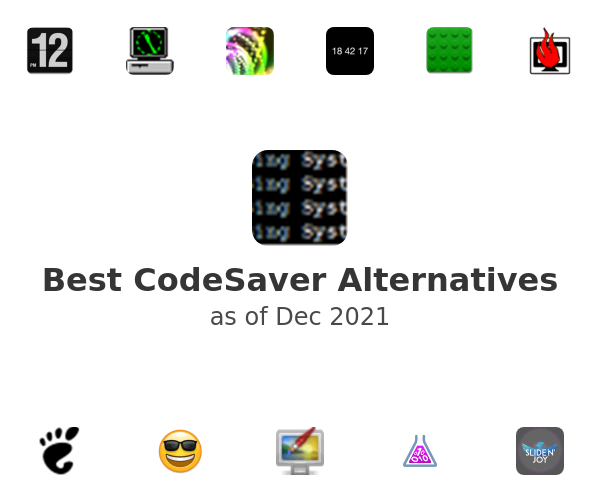 Best CodeSaver Alternatives