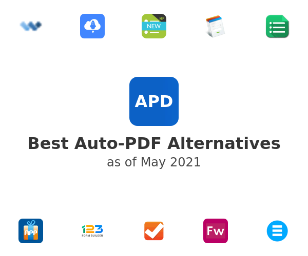 Best Auto-PDF Alternatives
