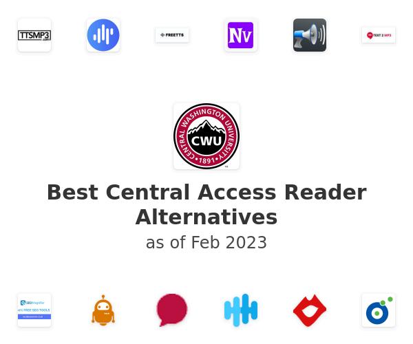 Best Central Access Reader Alternatives