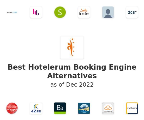 Best Hotelerum Booking Engine Alternatives
