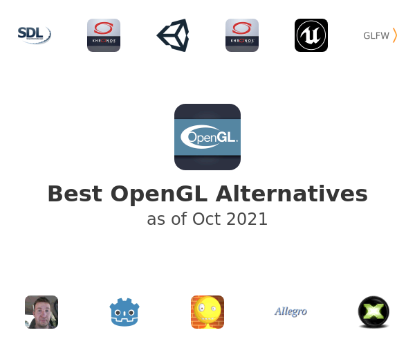 Best OpenGL Alternatives