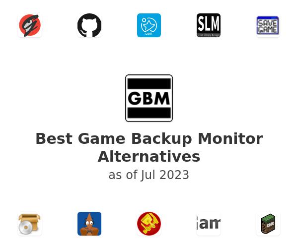 Best Game Backup Monitor Alternatives