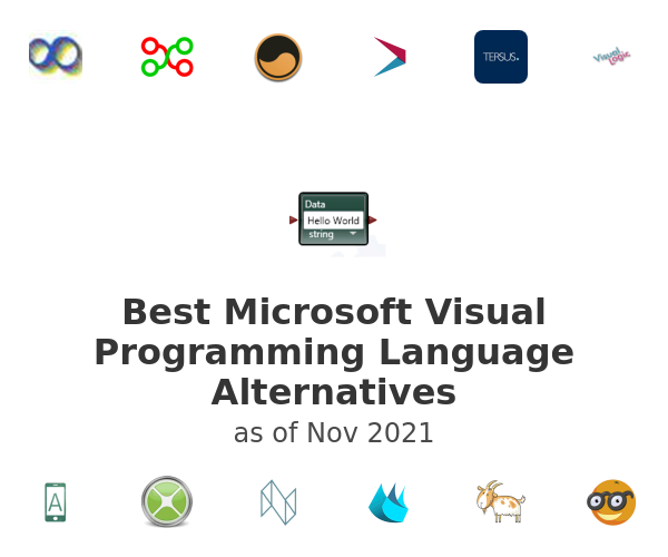 Best Microsoft Visual Programming Language Alternatives