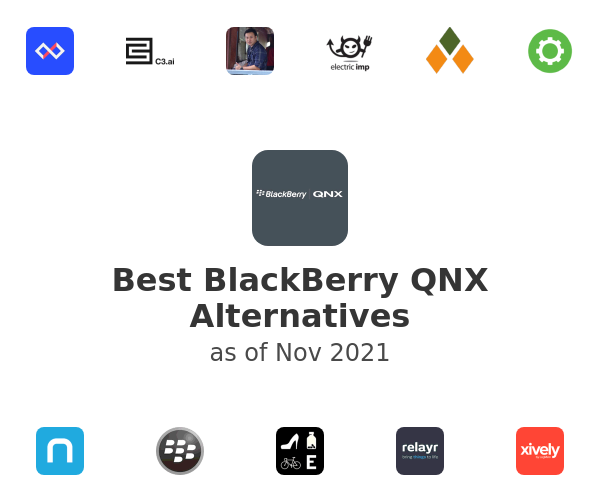Best BlackBerry QNX Alternatives