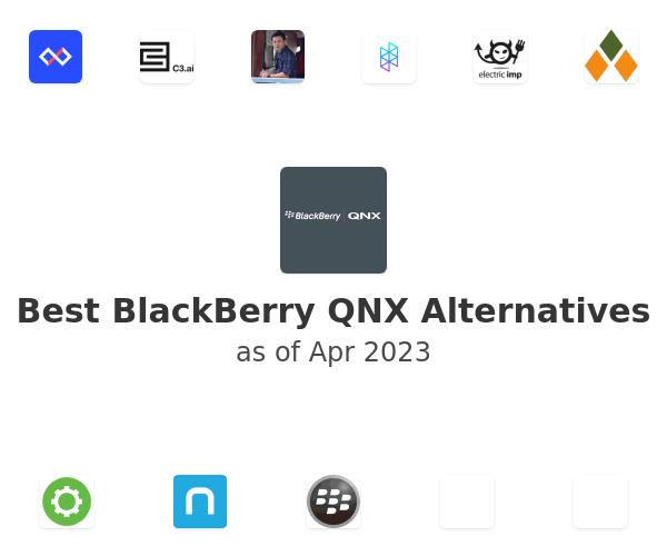 Best BlackBerry QNX Alternatives