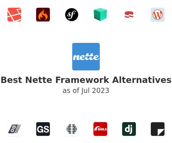 Best Nette Framework Alternatives