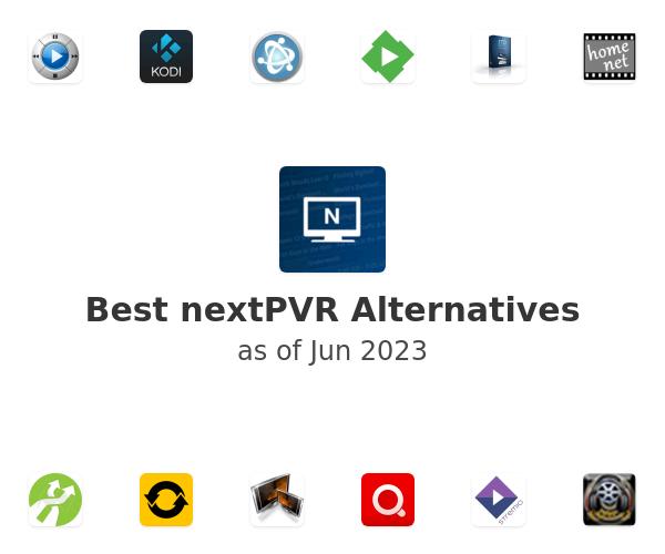 Best nextPVR Alternatives