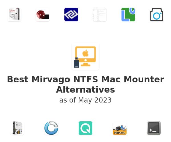 Best Mirvago NTFS Mac Mounter Alternatives