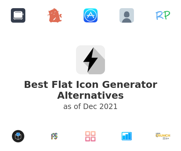 Best Flat Icon Generator Alternatives