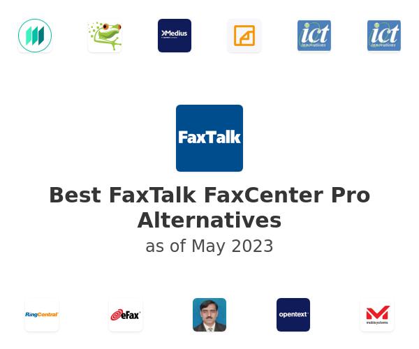 Best FaxTalk FaxCenter Pro Alternatives