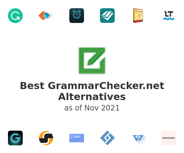 Best GrammarChecker.net Alternatives