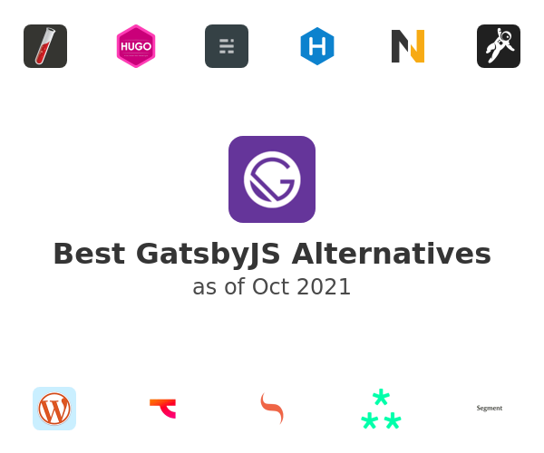 Best GatsbyJS Alternatives