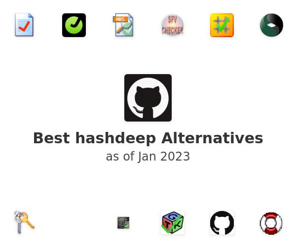 Best hashdeep Alternatives