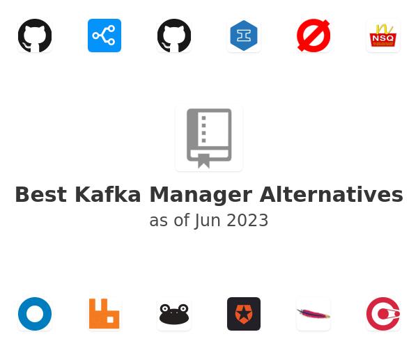 Best Kafka Manager Alternatives