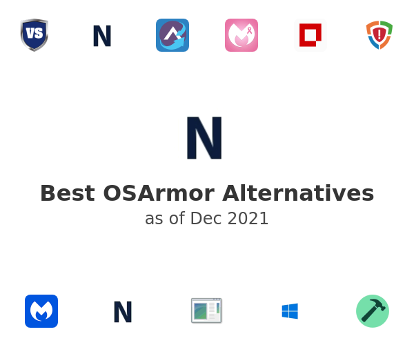 Best OSArmor Alternatives