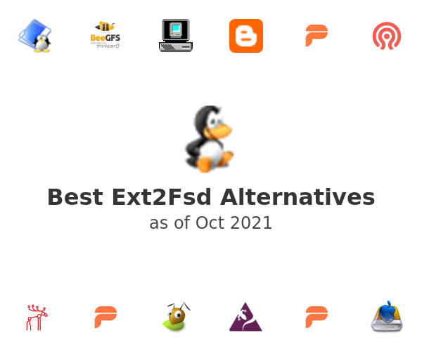 Best Ext2Fsd Alternatives