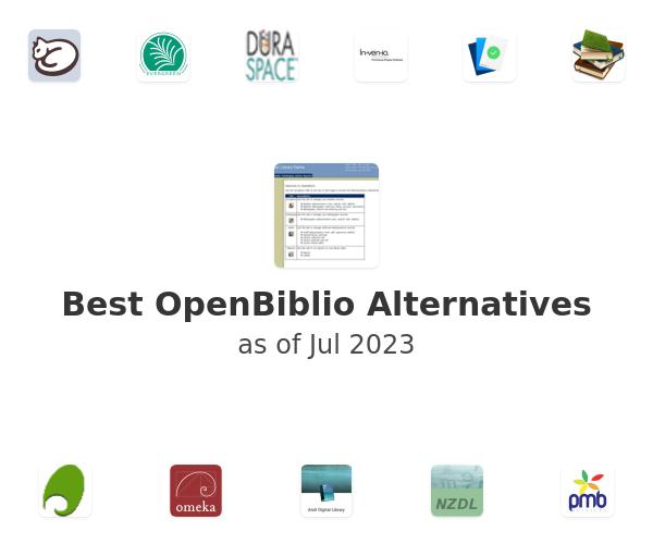 Best OpenBiblio Alternatives