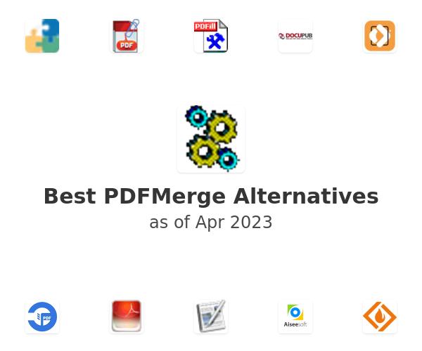 Best PDFMerge Alternatives
