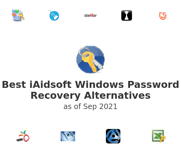 Best iAidsoft Windows Password Recovery Alternatives