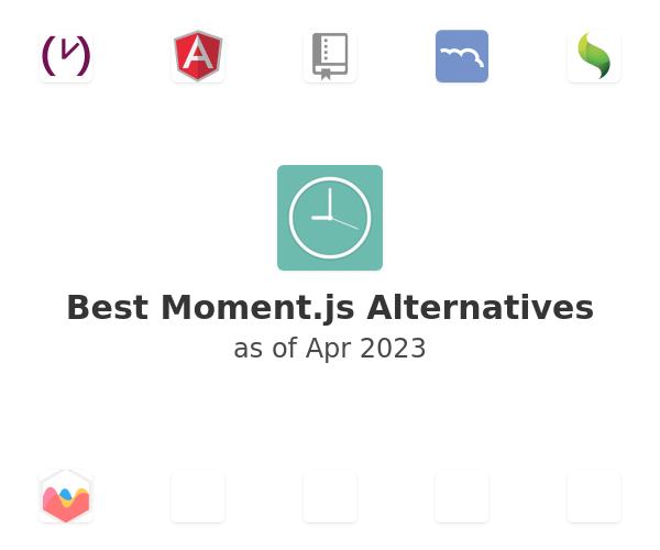 Best Moment.js Alternatives