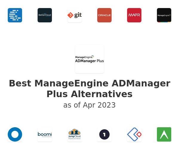 Best ManageEngine ADManager Plus Alternatives