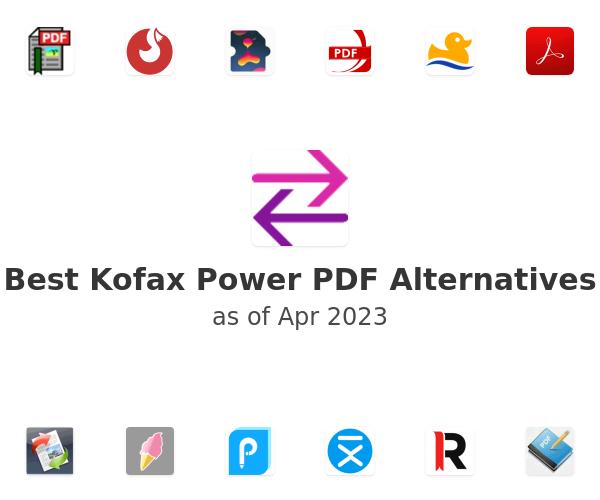 Best Nuance Power PDF Alternatives