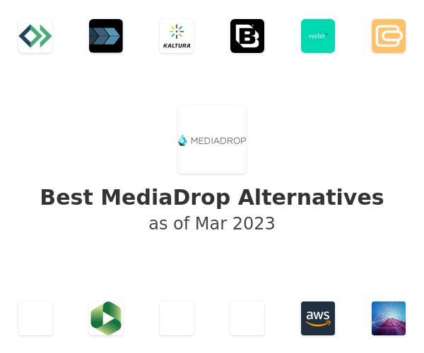 Best MediaDrop Alternatives